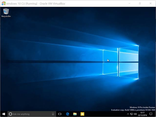 Windows 10 Sanal Makine